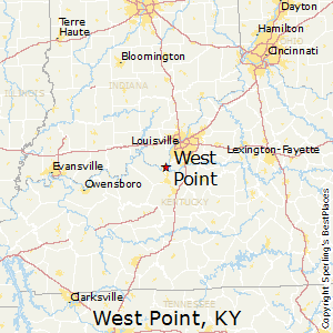 West_Point,Kentucky Map