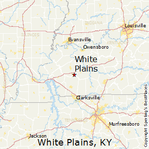 White_Plains,Kentucky Map