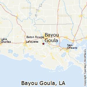 Map Of Louisiana Bayou.Bayou Goula Louisiana Cost Of Living