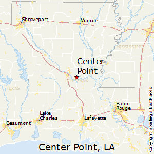 Center_Point,Louisiana Map