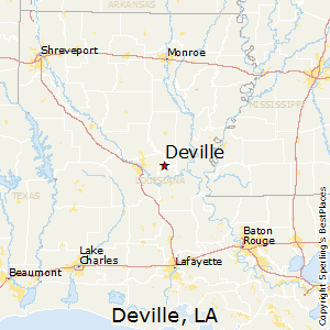 Best Places to Live in Deville, Louisiana