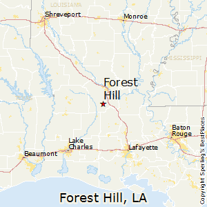 Forest_Hill,Louisiana Map