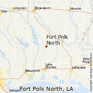 North Louisiana Map.Fort Polk North Louisiana Religion