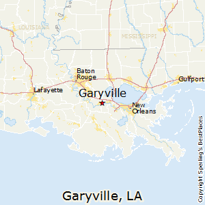 Garyville,Louisiana Map