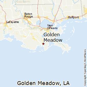Zip Code For Golden Meadow La