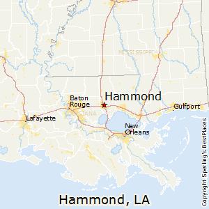 Hammond la to lafayette la
