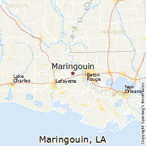 Maringouin,Louisiana Map