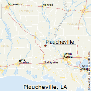 Plaucheville,Louisiana Map