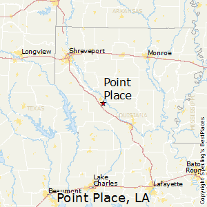 Point_Place,Louisiana Map
