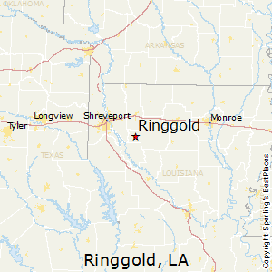 Area And Map Of Ringgold Louisiana Area Code For New Orleans - Louisiana area codes