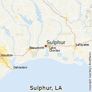 Comparison: Houston, Texas - Sulphur, Louisiana