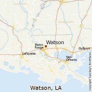 Pace Florida Map.Comparison Watson Louisiana Pace Florida