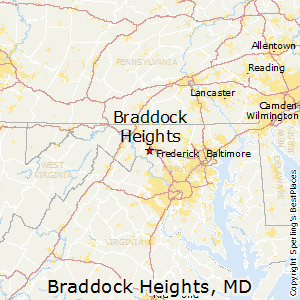 Braddock_Heights,Maryland Map