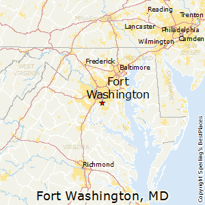 Fort_Washington,Maryland Map