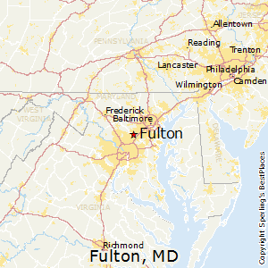 Best Places To Live In Fulton Maryland - Where is baltimore