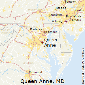 Queen_Anne,Maryland Map