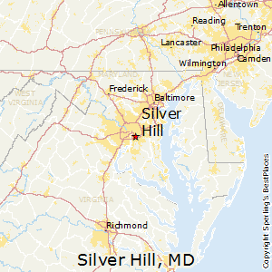 Silver_Hill,Maryland Map