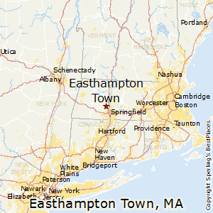 Easthampton_Town,Massachusetts Map