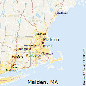 Comparison Waltham Massachusetts Malden Massachusetts
