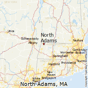 North_Adams,Massachusetts Map
