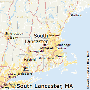 South_Lancaster,Massachusetts Map