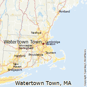 Watertown_Town,Massachusetts Map
