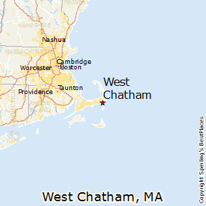 West_Chatham,Massachusetts Map