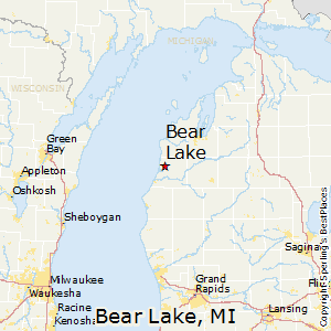 Bear Lake Michigan Map | Danielrossi