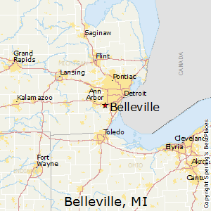 Best Places to Live in Belleville, Michigan on
