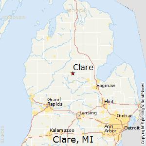 Comparison Sandusky Michigan Clare Michigan