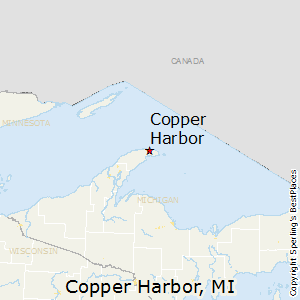 Copper_Harbor,Michigan Map