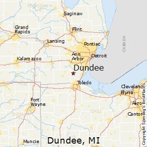 Leonard Michigan Map.Comparison Leonard Michigan Dundee Michigan