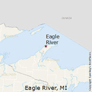 Eagle_River,Michigan Map
