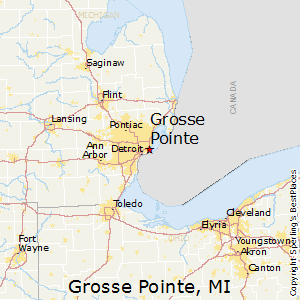 Grosse_Pointe,Michigan Map
