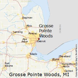 Farmington Hills Michigan Map.Comparison Grosse Pointe Woods Michigan Farmington Hills Michigan