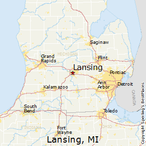 Best Places to Live in Lansing Michigan