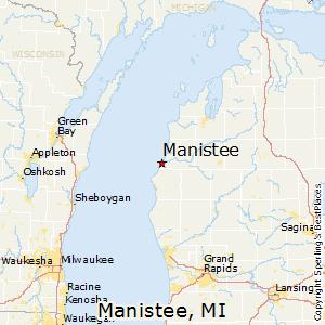 Comparison Manistee Michigan Ludington Michigan - Map of michigan cities