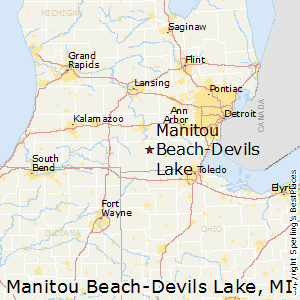 Best Places to Live in Manitou BeachDevils Lake Michigan