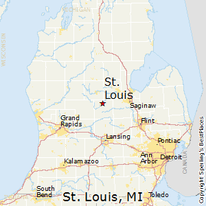 St. Louis, Michigan Cost of Living