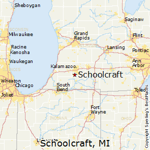 Best Places to Live in Schoolcraft, Michigan