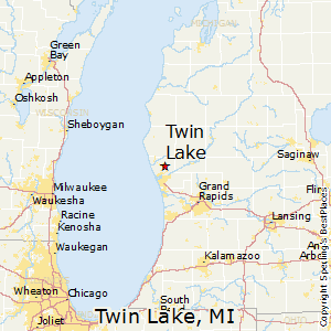 twin lake michigan map Best Places To Live In Twin Lake Michigan