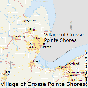 Village_of_Grosse_Pointe_Shores,Michigan Map