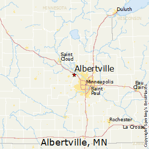 Albertville,Minnesota Map
