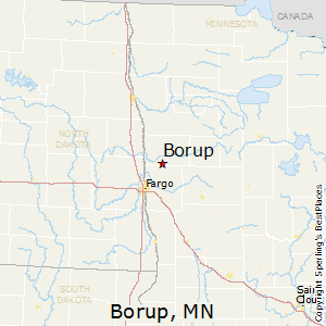 Borup,Minnesota Map