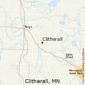 Clitherall,Minnesota Map