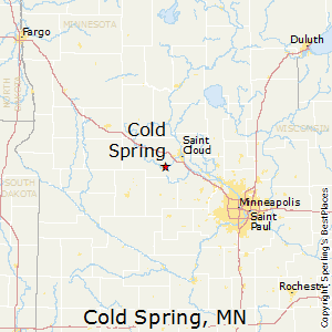 Cold_Spring,Minnesota Map