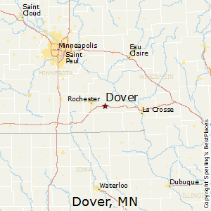 Dover,Minnesota Map
