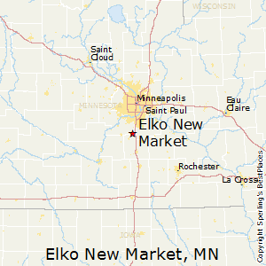 Elko_New_Market,Minnesota Map