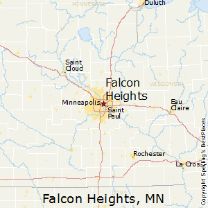 Falcon_Heights,Minnesota Map