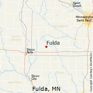 Fulda,Minnesota Map